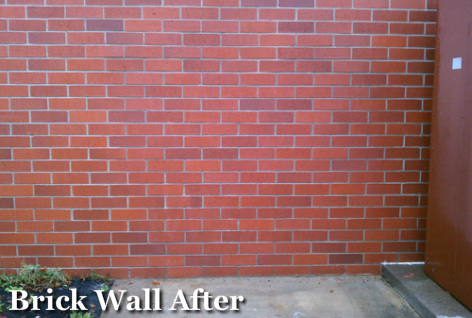Graffifi Removal Portland_Brick Wall After