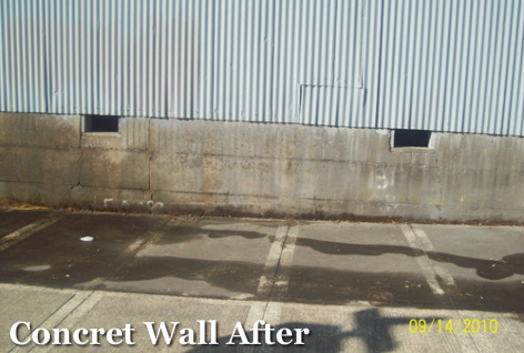 Graffifi Removal Portland_Cement Wall After