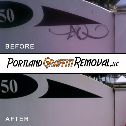 Portland_Graffiti_Removal_Removing Graffiti From Signs