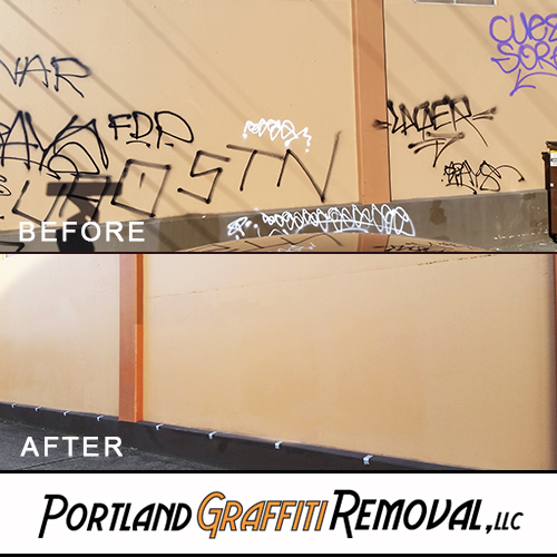 Portland_Graffiti_Professional Graffiti Removal For Your Place Of Business In Portland
