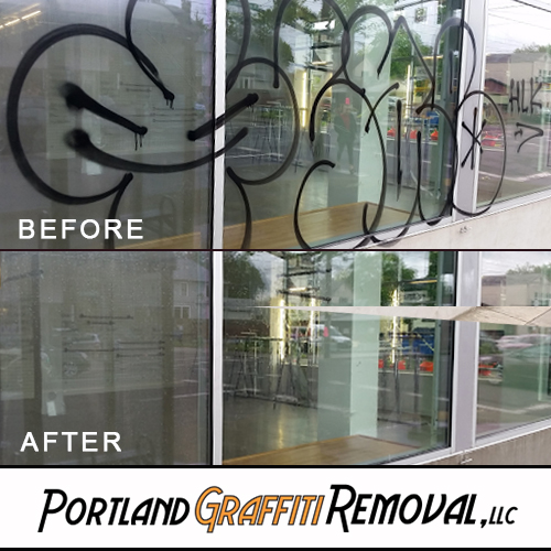 Portland_Graffiti_Removal_Remove Graffiti From The Windows Of Your Business