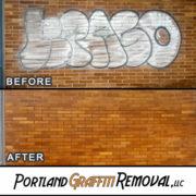 Graffiti Removal At Andy And Bax