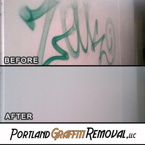 Portland_Graffiti_Removal_Graffiti Removal For AAA Of Oregon' Portland Office