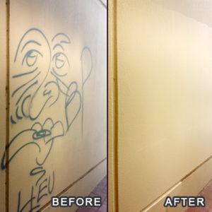 Portland_Graffiti_Removal_Graffiti Removal For AAA Of Oregons Portland Office