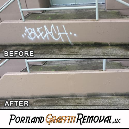 Portland_Grafitti_Removal_Graffiti Removal At Gateway Shopping Center_01